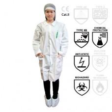 Bata Superior Visitas desechable Prot. Química
